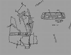 9r8005 Wiring Group-front Wiring Gp-front  Drive  - Backhoe Loader Caterpillar 428b