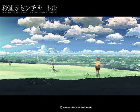 byousoku  centimeter  anime art