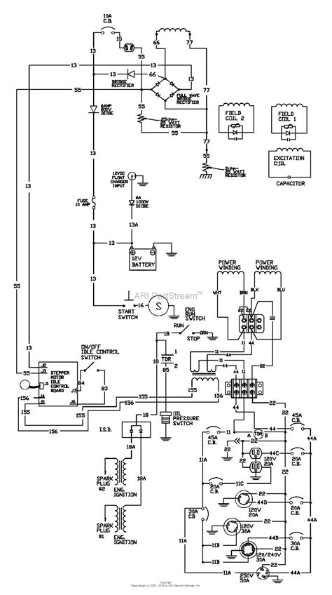 Up Bypas Switch Wiring Diagram by Briggs And Stratton Power Products 9801 8 10 000 Exl
