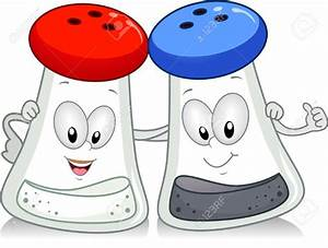 Cute Salt and Pepper Shakers Clip Art – Cliparts