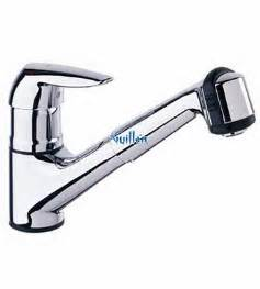 grohe kitchen faucet replacement parts grohe 33330000 eurodisc low profile pull out with dual spray kitchen faucet in chrome
