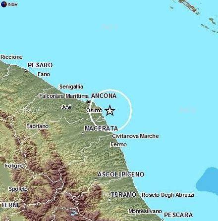 terremoto a porto recanati sisma al largo di porto recanati cronache maceratesi