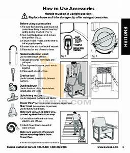 Pdf Manual For Eureka Vacuum Boss Smartvac 4870pz