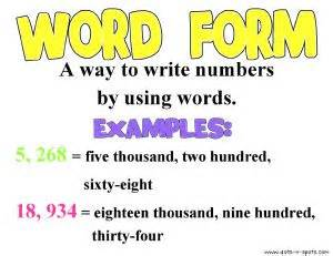 words expanded form and math words on pinterest