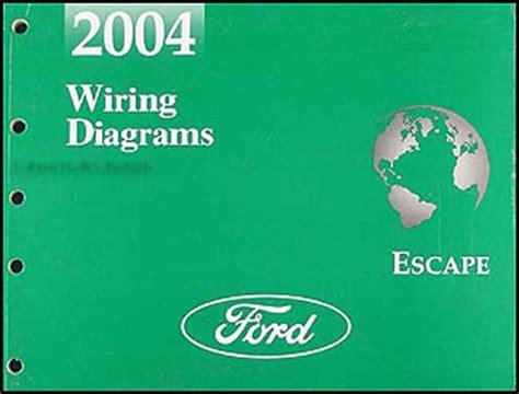 Ford Escape Repair Shop Manual Original