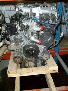 Mitsubishi Montero Sport Engine 3 0l  Vin H  8th Digit  03