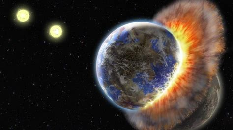 Asteroids Pounded Earth, Moon Beginning 290 Mn Years Ago