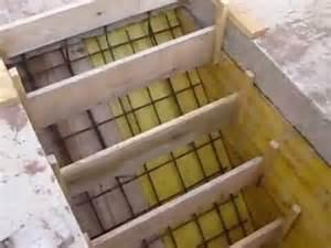 Escalier Beton Exterieur En Kit by Coffrages Pour La R 233 Alisation D Un Escalier B 233 Ton Youtube