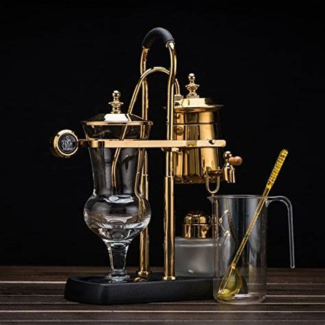 With hario glass next syphon coffee maker, you get to pick between a stainless steel or cloth filter. Belgian Luxury Royal Balancing Syphon, Belgium Siphon Coffee Maker