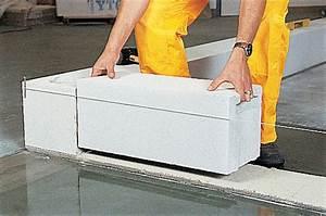prix d39un mur en beton cellulaire 2018 travauxcom With pose beton cellulaire exterieur