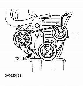 2003 Kia Spectra Serpentine Belt Routing And Timing Belt Diagrams