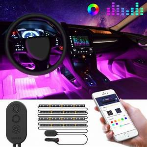 Best Led Lights For Car Interior In 2019 Reviews  U0026 Buying
