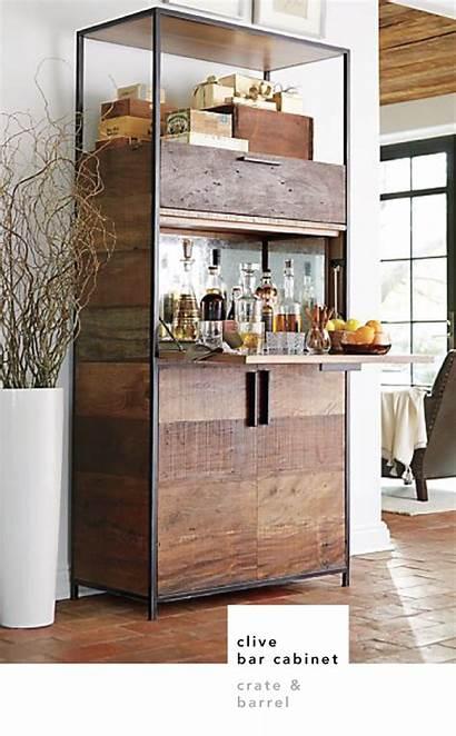 Bar Cabinet Barrel Crate Clive Cabinets Crush