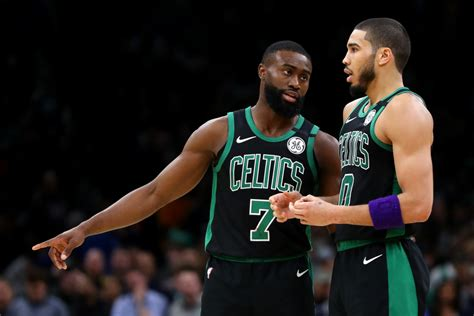 Boston Celtics: Anonymous player says Tatum/Brown can't be ...