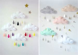 Decoration Nuage Chambre Bébé : decoration chambre bebe nuage visuel 6 ~ Teatrodelosmanantiales.com Idées de Décoration
