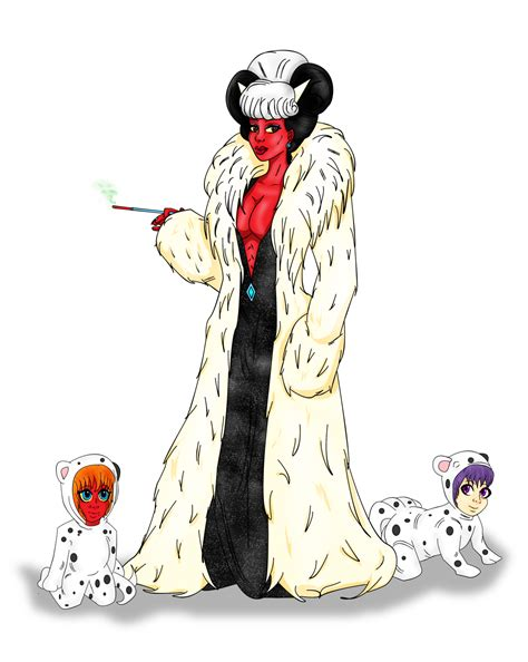 Cruella Deville Cosplay With Pups By Lady Shroob On Deviantart