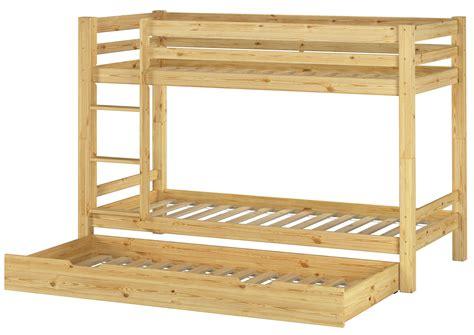 lit superpose pour petit chambre d enfants lit type mezzanine 90x200 pin massif wobbler ebay