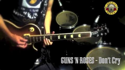 Guns 'n Roses Don't Cry Guitar Solo Cover