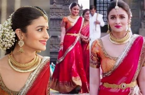 Alia Bhatt 2 States Bridal Look   4 steps (with images)