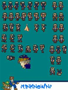 SNES - Final Fantasy 6 - Locke Cole - The Spriters Resource