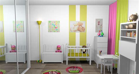 peinture chambre enfant mixte chambre bb jaune et gris mobile deco chambre jaune et