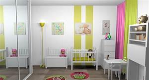 motif peinture chambre fille galerie avec peinture chambre With chambre bébé design avec legging fleur