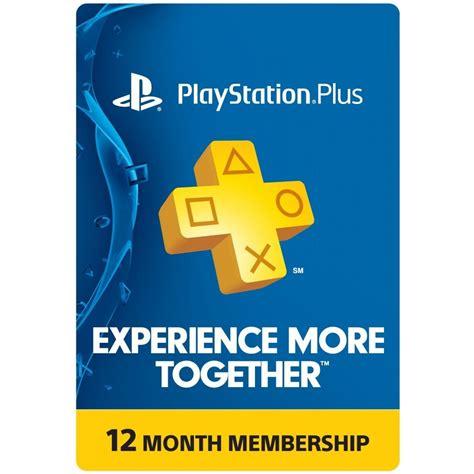 PSN Card 12 Month  Playstation Plus Hong Kong digital