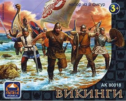 Ark Vikings Models Figures 65mm Viking Hobby
