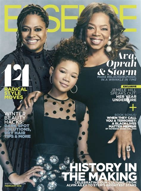 #BlackGirlMagic! Oprah Winfrey, Ava DuVernay & Storm Reid ...