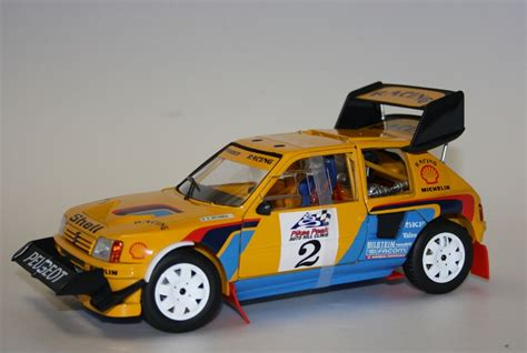 peugeot 205 t16 pikes peak 1987 rally b shrine peugeot 205 t16 pikes peak 1987 solido