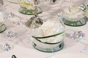 Rosen Im Glas : wei e rosen im glas tischdekoration klassik kristall meine kristall ~ Eleganceandgraceweddings.com Haus und Dekorationen