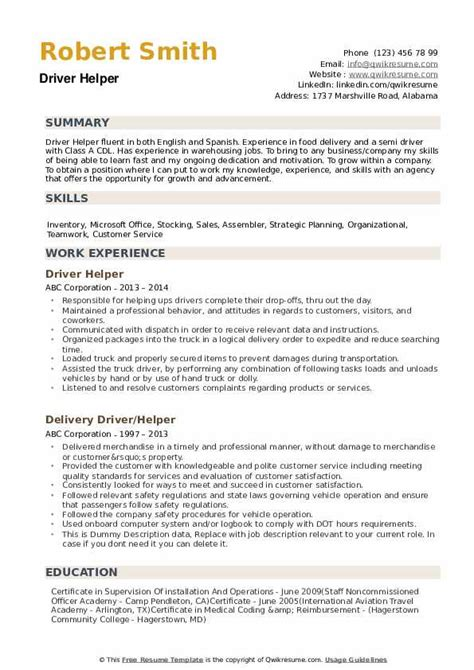basic resume helper  resume examples