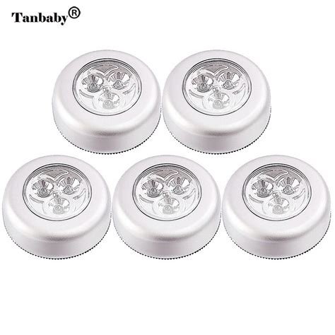 Product Of The Week Wireless Stick On Led Lights With Motion Sensor by Aliexpress Buy Tanbaby 5pcs Lot Led Wireless