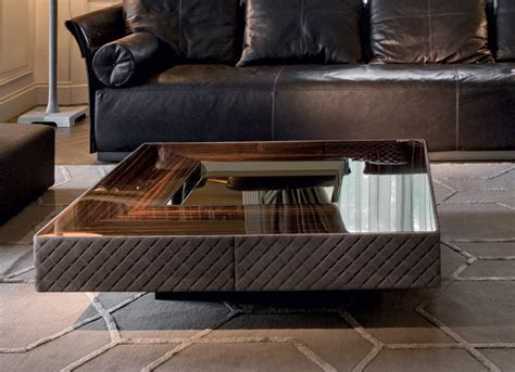 Coffee Table With Metal Base Lord Longhi Luxury