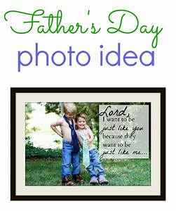 Father's Day Photo Idea - I Can Teach My Child!