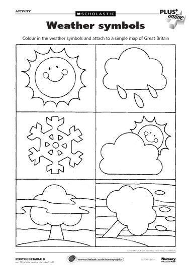 loads  uk school printables  books weather symbols