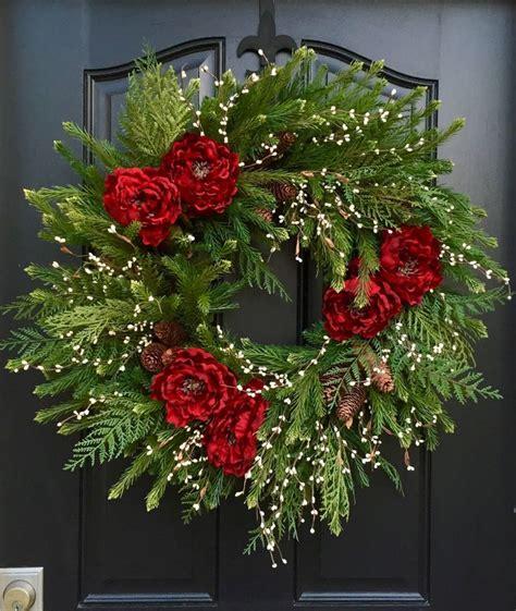 christmas wreath artificial pine wreath 2015 christmas