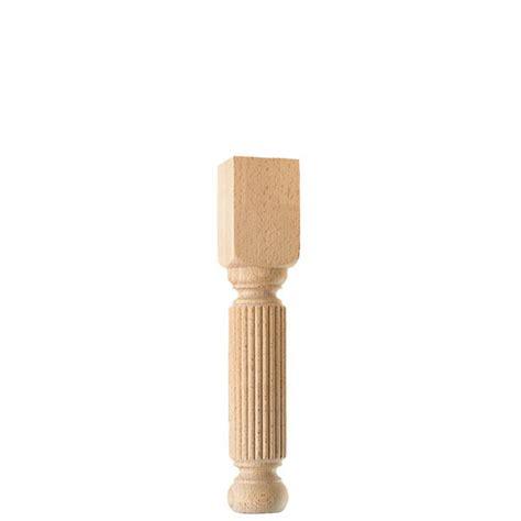 pieds de table bois tourne pied de table basse en bois tourn 233 cannel 233