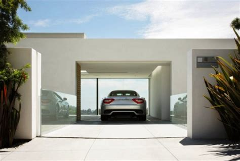 Haus Mit Garage  Die Moderne Garage Freshouse