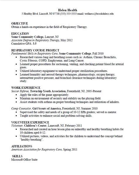 health sciences major resume sample career connoisseur