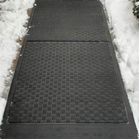 snow doormat cozy products away snow melting mat snow the