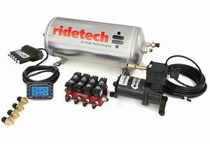 Ridetech S550 Mustang Level 2 Air Suspension System  15