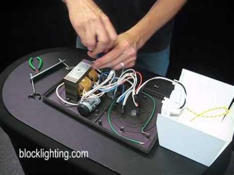 How Replace Metal Halide Ballast Youtube