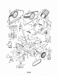 Proform 831219413 Exercise Cycle Parts