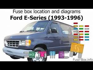 Fuse Box Location 1996 Ford E 150 Conversion Van