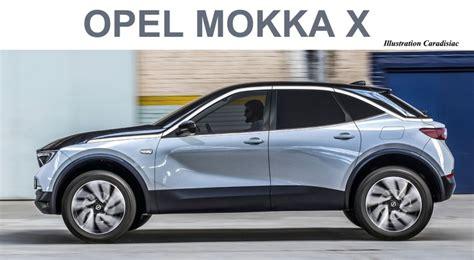 Nuova Opel Mokka X 2020 by Le Nouveau Opel Mokka X Arrive En 2020