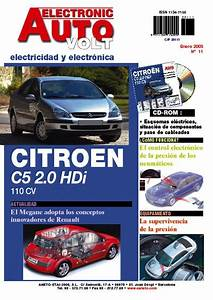 Manual De Taller Citroen C5 Hdi 110cv Electricidad Cd Rom