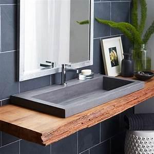 Evier Salle De Bain : id e d coration salle de bain evier salle de bain ~ Dailycaller-alerts.com Idées de Décoration