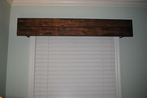rusticwoodvalance whitehouse project blog rustic cornice rustic pinterest blog