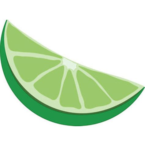 lime slice silhouette free clip art picture of a lime wedge polyvore